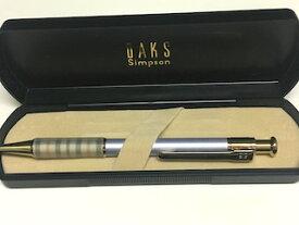【USED】ダックス【DAKS】ペン ボールペン DAKS ダックス ボールペン パープル ゴールド