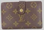 【ランクAC】ルイヴィトンモノグラム二つ折り財布長財布LouisVuitton【中古】