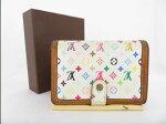 【ランクB】【札入れ財布】ルイヴィトンモノグラム二つ折り財布LouisVuitton【中古】