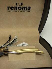 【送料500円】RENOMA/レノマ■ ピンブローチ ネクタイピン ゴールド×シルバー【中古】