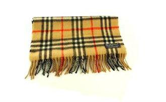 quality design 8f700 fb884 A bargain! BURBERRY ENGLAND Burberry scarf cashmere London beige AH02