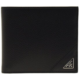【ラスト1点セール】プラダ PRADA 財布 二つ折り財布 メンズ アウトレット 2mo738vimigr-nero