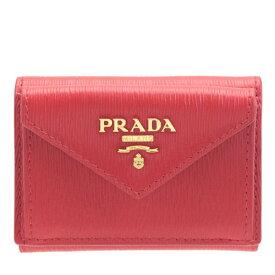プラダ 財布 PRADA 三つ折り財布 レディース アウトレット 1mh021vitmov-lacc