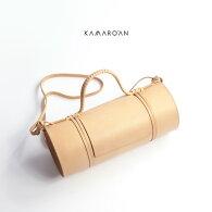 Kamaro'anカマロアンイタリアンレザーバンブーバッグショルダーバッグヌメ革レディース
