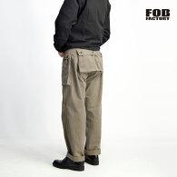 FOBFACTORYFOBファクトリーヘリンボーンM-44モンキーパンツカーゴパンツ日本製メンズ