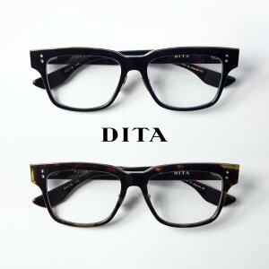 DITA ディータ AUDER 55サイズ ウェリントン メガネ 伊達 度付き