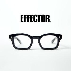EFFECTOR エフェクター funk ファンク スクエア メガネ 伊達 度付き