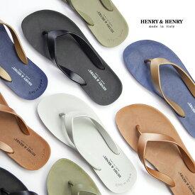 【エントリーでポイント×5倍】HENRY&HENRY ヘンリー&ヘンリー FLIPPER フリッパー サンダル ビーチサンダル トング メンズ