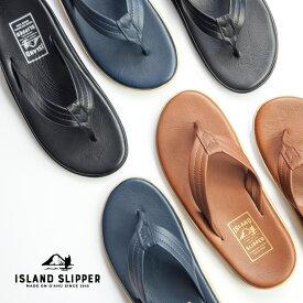 Island Slipper アイランドスリッパ レザートングサンダル 本革 メンズ