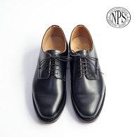 NPSエヌピーエスプレーントゥレザーシューズオフィサーシューズイギリス製革靴レザーソールメンズ