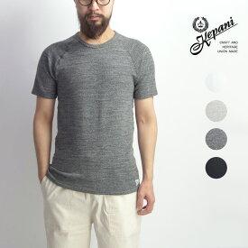 Kepani ケパニ ストレッチフライス ラグランスリーブ Tシャツ 日本製 メンズ