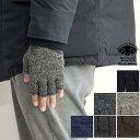 BLACK SHEEP ブラックシープ 指ぬき 手袋 ウール フィンガーレス ニットグローブ 指なし 指切れ メンズ レディース イ…