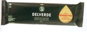 イタリア産 最高級デルヴェルデ(Delverde)N.3 スパゲティーニ  太さ約1.6mm 500g×24パックセット  デュラム小麦セモリナ