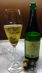フランス産 無農薬ぶどうジュース シャンパーニュタイプ(ノンアルコール飲料) 750ml レジ・ブルービオ