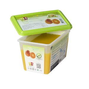 冷凍 フランス産 高級オレンジ ピューレ ジュース 1kg 100% 無糖 キャップフリュイ社