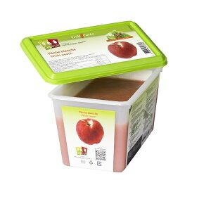冷凍 フランス産 高級白桃 (ピーチ)ピューレ 1kg 100%(加糖10%) キャップフリュイ社