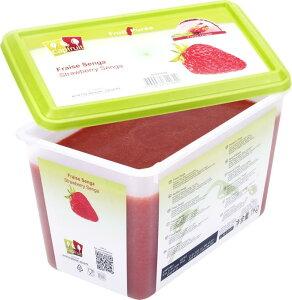 冷凍 ヨーロッパ産イチゴ(センガセンガナ種)ピューレ 1kg 100% 無糖 キャップフリュイ社