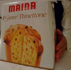 イタリア産 MAINA社のイル・グラン・パネトーネ 1kg 賞味期限2021.06.30
