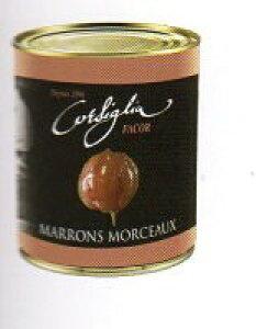 高級マロンモルソーのシロップ漬け フランス産 1kg(650g)コルシグリア