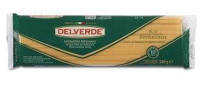 イタリア産 最高級デルヴェルデ(Delverde)N.13 フェットゥ チェッレ  500g  デュラム小麦セモリナ