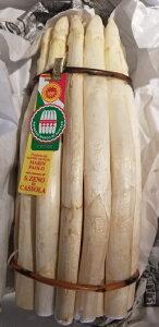トウモロコシのような甘いイタリア産ホワイトアスパラ1Kg 3〜4週間限定の貴重な野菜 バッサーノ