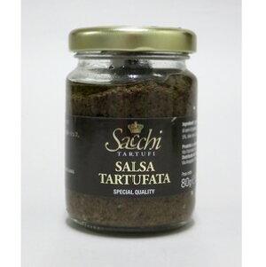 イタリア産 サッキ タルトゥファータ(黒トリュフソース) 80g