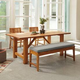 在庫限り lfpt-3035na ダイニングテーブル 天然木(チーク材) LFP Dining Table 1800 横幅180cm