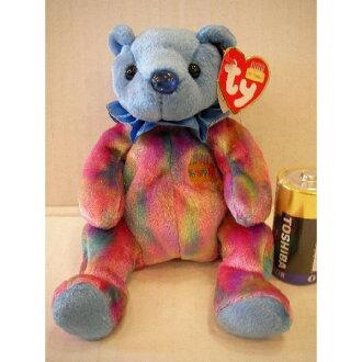 Sapphire bear Beanie Babies fs3gm