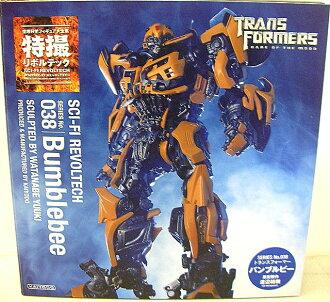 Sci-Fi Revoltech No.038 transformers Bumblebee