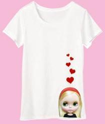 『ブライス半袖Tシャツ』 ラブミー(ホワイト)【あす楽対応】