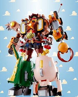 Chogokin 玩具故事超级 gattai 木质机器人警长斯塔尔 (与有限的好处) 的灵魂