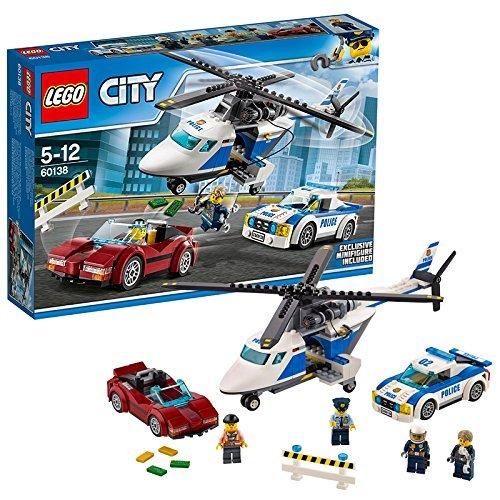 レゴ (LEGO) シティ ポリスヘリコプターとポリスカー 60138 【あす楽対応】