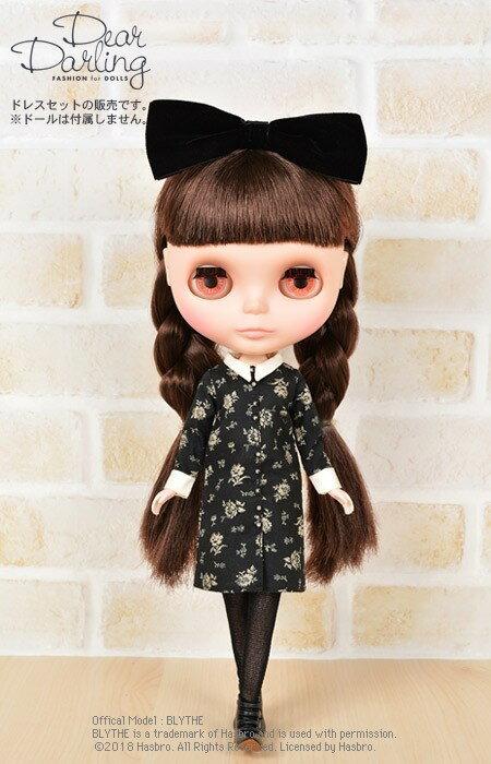 ネオブライス ドレス Dear Darling fashion for dolls「Dark Wednesday」フラワー【あす楽対応】