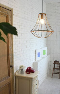アイアンフレームのお洒落な照明アンティークジェンマペンダントランプGemmapendantlamp【照明ランプ】DICLASSE(ディクラッセ)