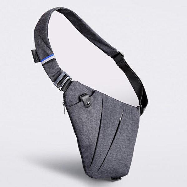 DXYZ 防水 ボディバッグ メンズ 斜めがけ 4ポケット 小型 大容量 シークレットバッグ 7インチタブレット収納 スポーツ 防犯 YKK ギフト 【送料無料あり】