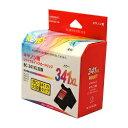 リ・ジェット(ReJET) キヤノン(Canon)用 BC-341XL FINEカートリッジ 3色カラー 大容量互換 リサイクルインク(EC…
