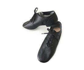 【SALE/7/14まで】マレンゴ バトンシューズ  ブラック    本革  国産 バトントワリング チアダンス