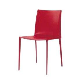 遠藤照明 家具 椅子 レザーチェア LINDA(レッド)チェア/チェアー/CHAIR/イス MBC0007RD AbitaStyle(アビタスタイル) /マルゲリータ