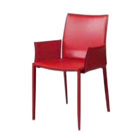 遠藤照明 家具 椅子 レザーチェア LINDA(レッド)チェア/チェアー/CHAIR/イス MBC0009RD AbitaStyle(アビタスタイル) /マルゲリータ