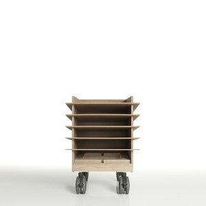 書類トレー A4 高さ300mmタイプ キャスター付き 木製(書類トレイ 書類ケース 書類収納 書類ラック 書類棚 書類入れ 書類整理棚 書類チェスト カタログスタンド カタログラック オフィス家具
