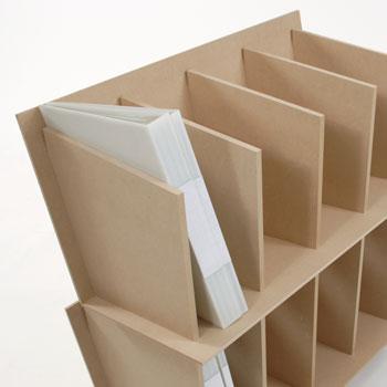 ファイルスタンド高さ600ワイドタイプ木製(A4ファイル棚ファイル整理棚ファイル収納棚本棚ブックスタンドデスクサイド収納ラック大容量)CRT-FS-600W/マルゲリータ