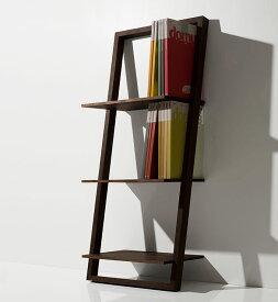 壁に立て掛ける本棚 ロータイプ(簡単 本棚 ウォールラック ブックシェルフ ディスプレイラック おしゃれ インテリア 壁掛け 壁 壁面)BSL-01-L /マルゲリータ