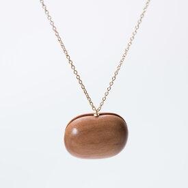 CHITOSE GRAIN L 一粒の大きなりんご ネックレス ショート 木村木品製作所 /マルゲリータ