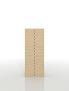 書類収納棚 A3 引き出し 木製 16段(書類棚 書類整理棚 書類ケース 書類ラック 書類入れ 書類チェスト キャビネット 引出し収納 オフィス家具 大容量 マップケース 図面棚)DRW-A3-16 /マルゲリ