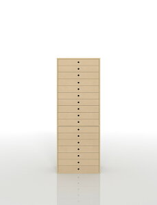 書類収納棚 A3 引き出し 木製 17段(書類棚 書類整理棚 書類ケース 書類ラック 書類入れ 書類チェスト キャビネット 引出し収納 オフィス家具 大容量 マップケース 図面棚)DRW-A3-17 /マルゲリ