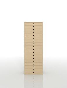 書類収納棚 A3 引き出し 木製 18段(書類棚 書類整理棚 書類ケース 書類ラック 書類入れ 書類チェスト キャビネット 引出し収納 オフィス家具 大容量 マップケース 図面棚)DRW-A3-18 /マルゲリ