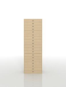 書類収納棚 A3 引き出し 木製 19段(書類棚 書類整理棚 書類ケース 書類ラック 書類入れ 書類チェスト キャビネット 引出し収納 オフィス家具 大容量 マップケース 図面棚)DRW-A3-19 /マルゲリ