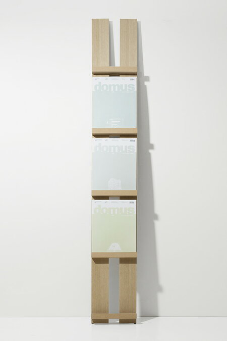 雑誌本棚・壁に立てかける・木製・ウッド・おしゃれ・デザイン・インテリア・送料無料)/MR-01/Ladderシリーズ/マルゲリータ