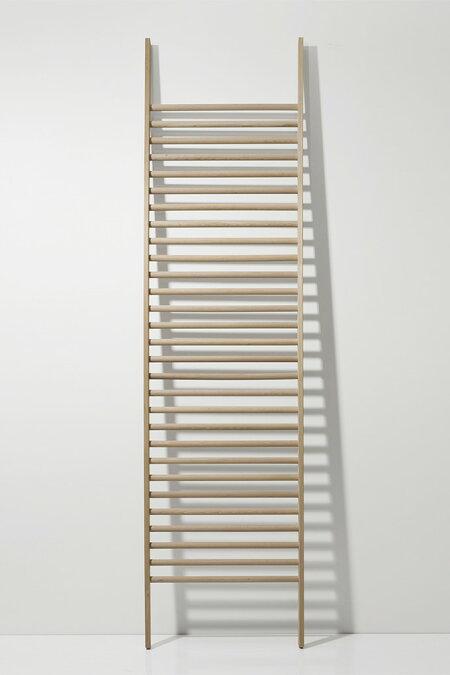 ラダーラック木製BONE(おしゃれラダーシェルフ壁面収納ネクタイハンガーネクタイ掛け収納ラック壁掛けデザインインテリア送料無料)BONE-01