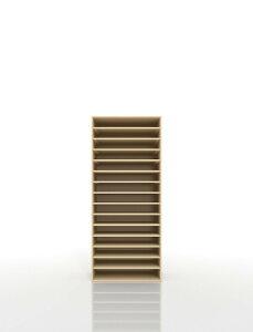 楽譜棚 楽譜 ピアノ A3 15段 木製(書類収納棚 書類整理棚 書類ラック 書類ケース 書類トレー 書類入れ マップケース 図面棚 オフィス家具 大容量 送料無料)/PNO-A3-15 /マルゲリータ
